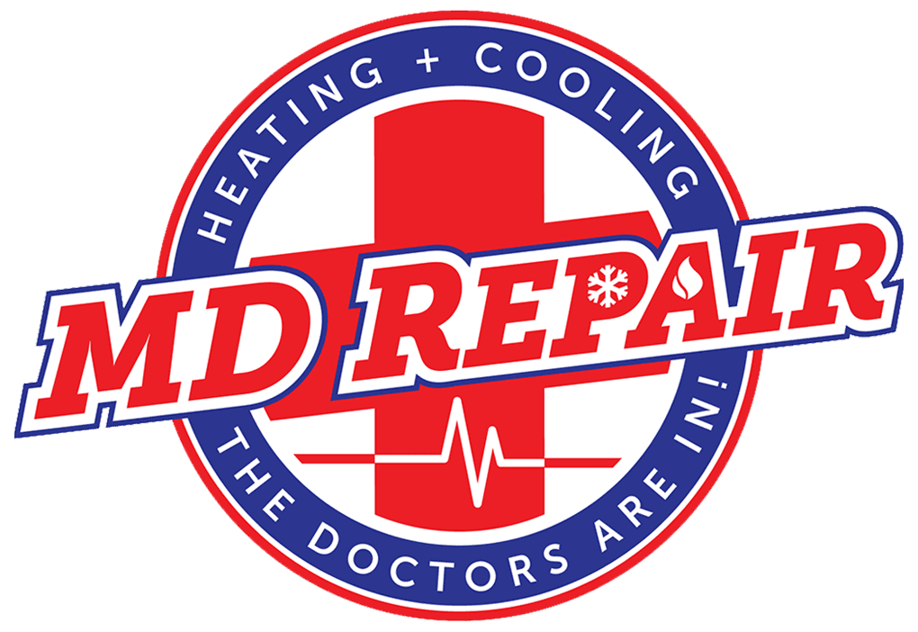 MDR Heating and Cooling Logo